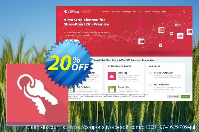 Dev. Virto Administration Suite for SP2013 discount 20% OFF, 2021 National Savings Day offering sales. Dev. Virto Administration Suite for SP2013 special discount code 2021