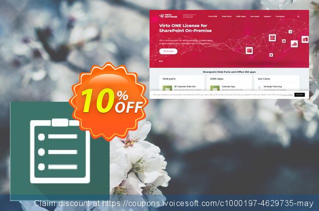 Dev. Virto Content Management Suite for SP2013 discount 10% OFF, 2019 Back to School offer offering sales