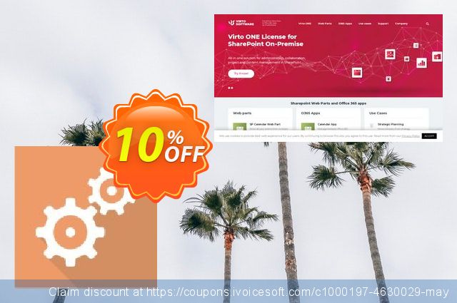 Dev. Virto Workflow Suite for SP2007 discount 10% OFF, 2019 Back to School offer offering deals