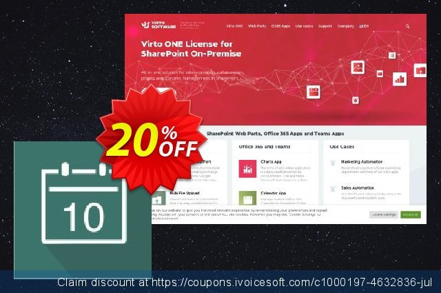 Dev. Virto Event Viewer for SP2010 discount 20% OFF, 2021 Immigrants Day offer. Dev. Virto Event Viewer for SP2010 hottest deals code 2021