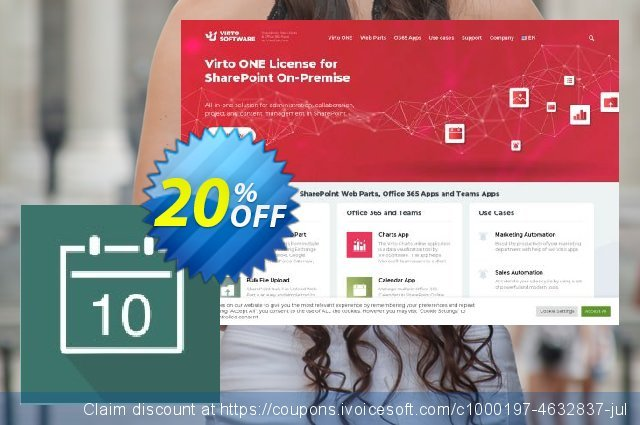 Dev. Virto Event Viewer for SP2013 discount 20% OFF, 2021 Magic Day discount. Dev. Virto Event Viewer for SP2013 special offer code 2021