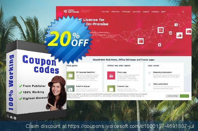 Virto Forms Designer for Office 365 discount 10% OFF, 2020 Spring promo sales