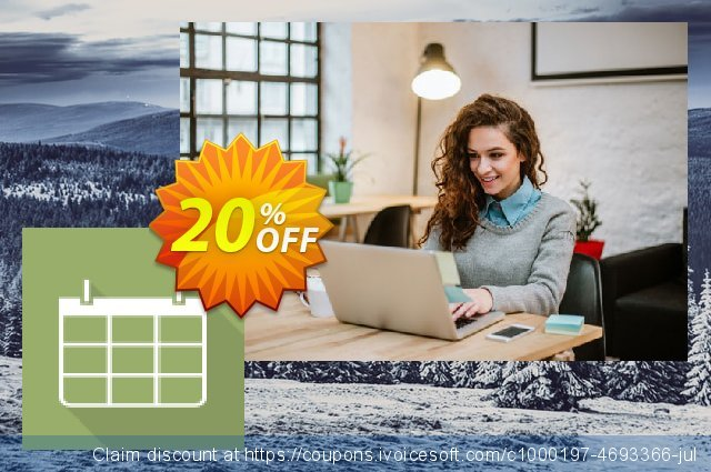 Calendar Add-in for Office 365 Editors edition annual billing  훌륭하   매상  스크린 샷