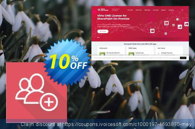 Dev. Virto Create & Clone AD User for SP2016 discount 10% OFF, 2019 Halloween promo