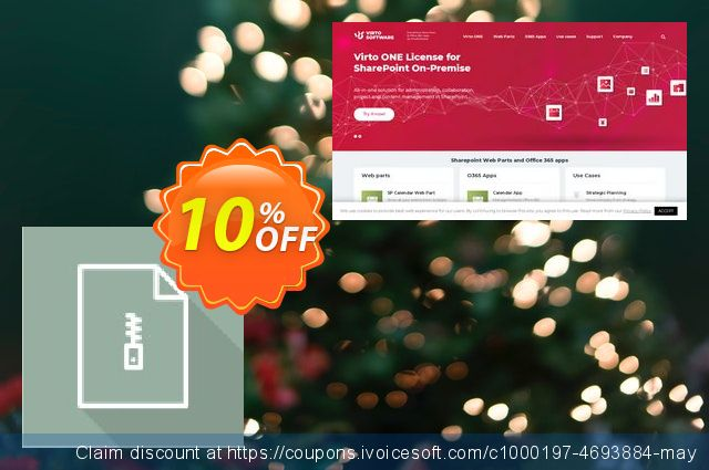 Dev. Virto Bulk File Unzip Utility for SP2016 discount 10% OFF, 2020 Happy New Year offering sales