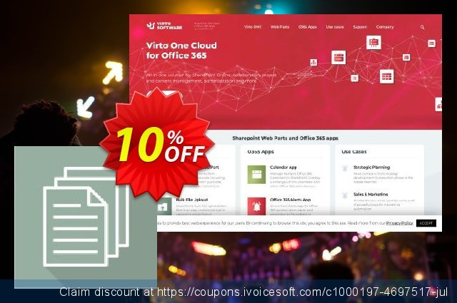 Dev. Virto Bulk File Copy & Move for SP2016 discount 10% OFF, 2020 4th of July offering discount