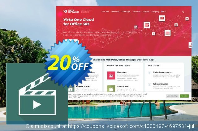 Virto Media Player Web Part for SP2016 discount 10% OFF, 2020 University Student deals deals
