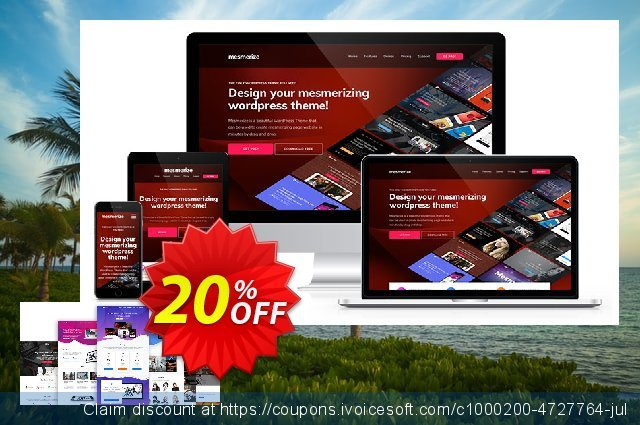 Mesmerize PRO - Ultimate License discount 20% OFF, 2019 Year-End offering sales