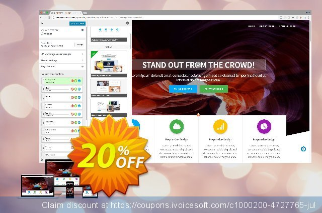 ExtendThemes One Page Express PRO discount 20% OFF, 2020 College Student deals offering sales