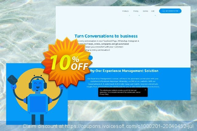 Sales Bot discount 10% OFF, 2021 Happy New Year offering sales