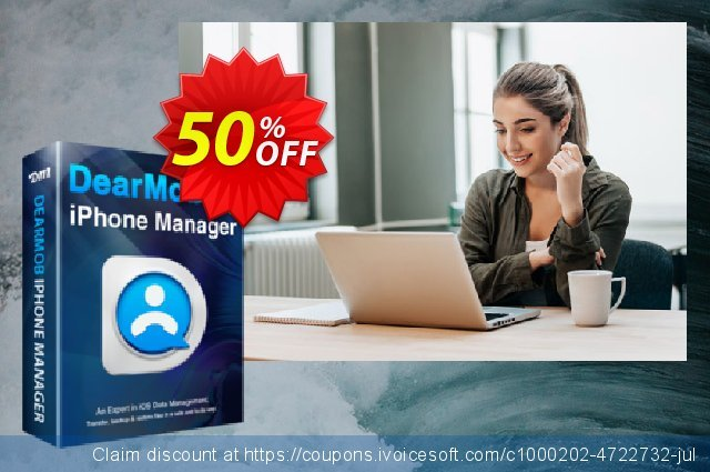 DearMob iPhone Manager discount 34% OFF, 2021 Spring promotions