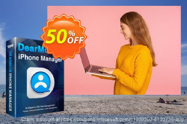 DearMob iPhone Manager - 1 Year Mac discount 34% OFF, 2019 Halloween offering sales