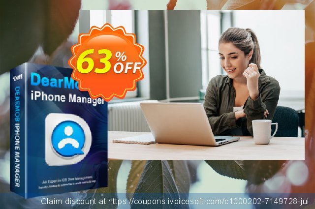 DearMob iPhone Manager (Lifetime) discount 30% OFF, 2021 Happy New Year offering sales