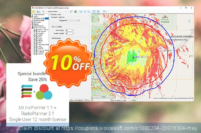 Special offer: MLinkPlanner + RadioPlanner (12 month license) discount 10% OFF, 2020 Happy New Year discount