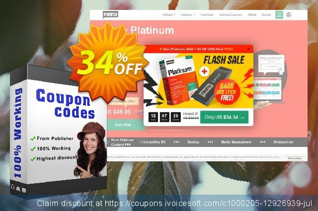 Nero Burning ROM 2020 discount 33% OFF, 2020 Labour Day offering sales