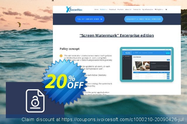 xSecuritas Secure Doc discount 20% OFF, 2020 New Year offering sales