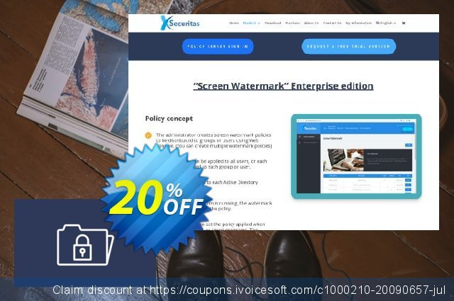 xSecuritas Secure PC discount 20% OFF, 2021 New Year offering sales