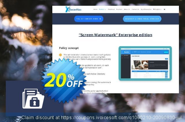 xSecuritas Block Ransomware and Backup discount 20% OFF, 2020 Back to School coupons discount