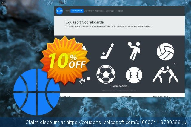 Eguasoft Basketball Scoreboard discount 10% OFF, 2020 Labour Day offering sales