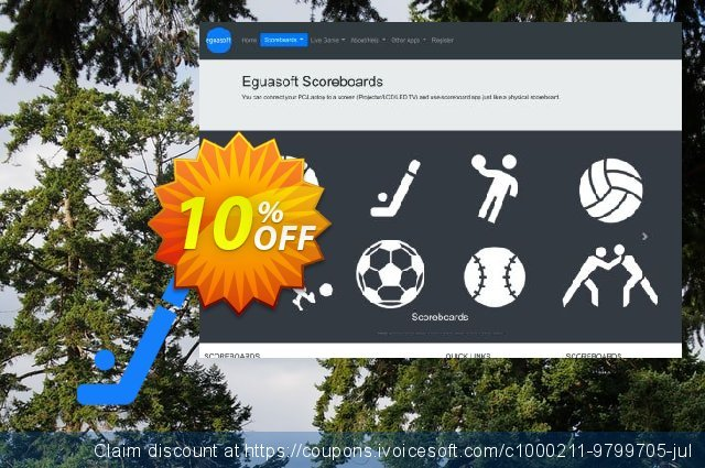 Eguasoft Hockey Scoreboard discount 10% OFF, 2020 Labour Day promo sales
