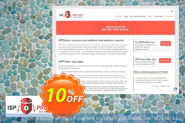 ISPProtect BanDaemon - 12 Months discount 10% OFF, 2019 Halloween promo