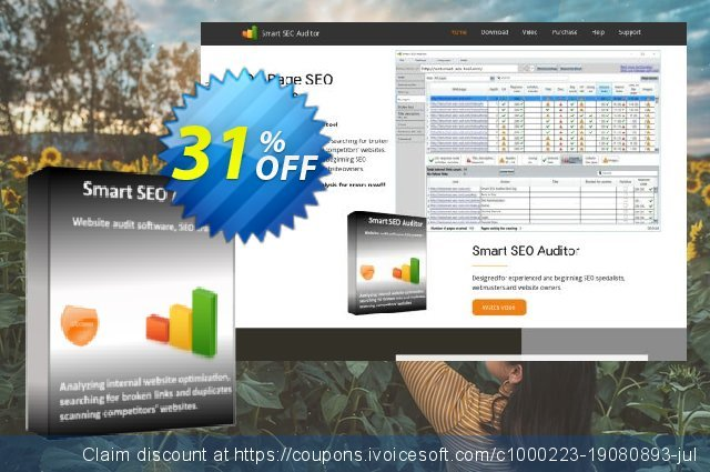 Smart SEO Auditor - 6 month discount 20% OFF, 2019 Father's Day offer