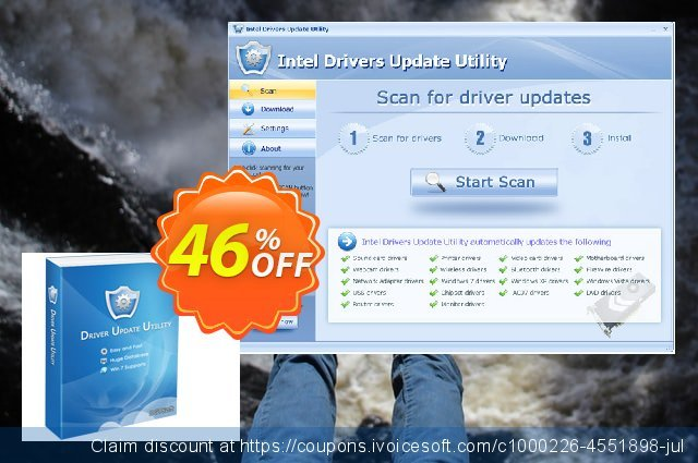 Intel Drivers Update Utility (Special Discount Price) 独占 产品交易 软件截图