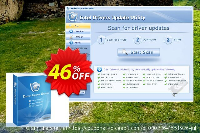Logitech Drivers Update Utility (Special Discount Price)令人敬畏的产品销售 软件截图