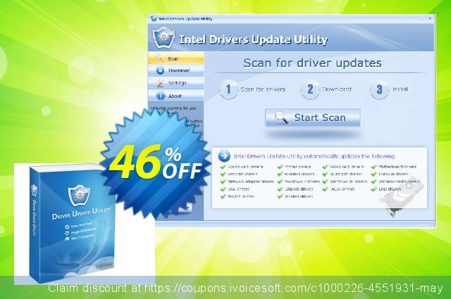 ATI Drivers Update Utility + Lifetime License & Fast Download Service (Special Discount Price) 壮丽的 产品销售 软件截图