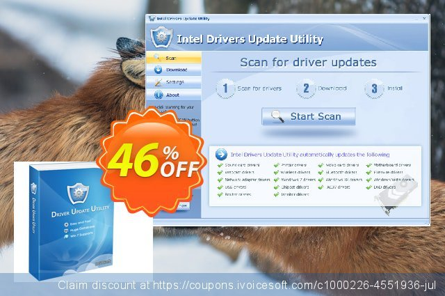 CANON Drivers Update Utility + Lifetime License & Fast Download Service (Special Discount Price) 美妙的 产品销售 软件截图