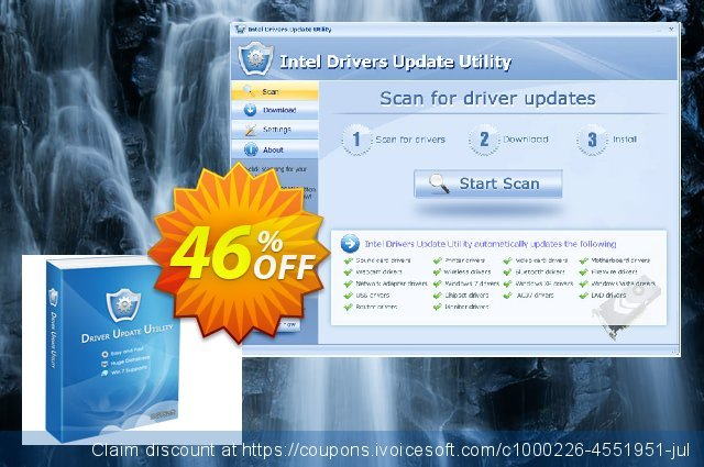MSI Drivers Update Utility + Lifetime License & Fast Download Service (Special Discount Price) ーパー キャンペーン スクリーンショット