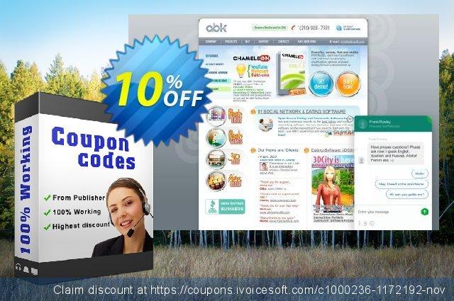 Chameleon Software Modification Services: 1800USD棒极了销售 软件截图