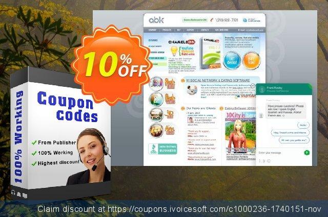 BusinessSpace Multi Domain License + Unique Design 激动的 促销销售 软件截图