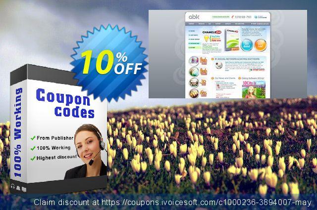 Chameleon Software (Single Domain License + Unique Design) 了不起的 产品销售 软件截图