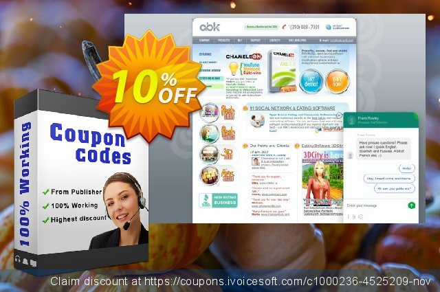 Oryx Social Networking Software Single Domain License discount 10% OFF, 2020 Thanksgiving Day promo sales