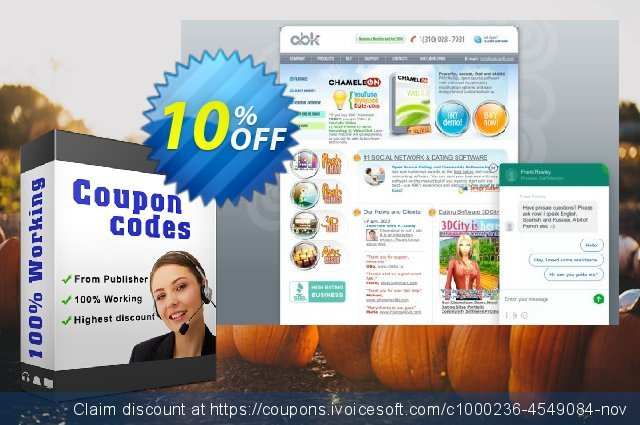 1300 one payment Jairo Site + Facebook modules discount 10% OFF, 2020 Halloween discounts