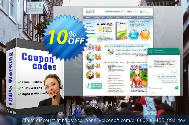 990 discount Chameleon + BusinessSpace (all with unique design) discount 10% OFF, 2020 Back to School event offering sales