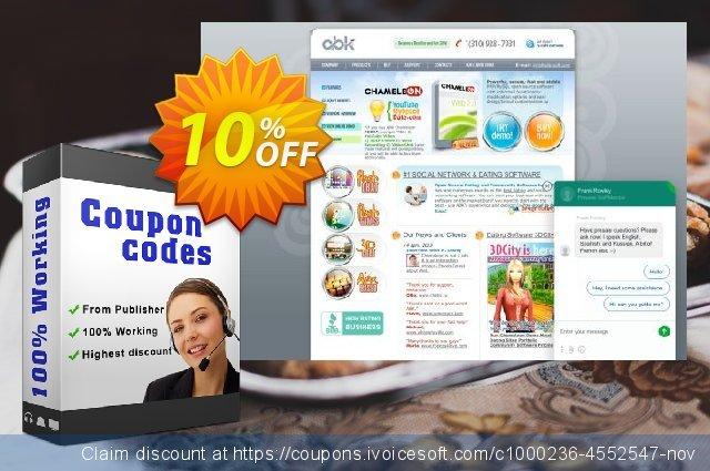 Chameleon Multi + BusinessSpace Discounted price 大的 折扣 软件截图