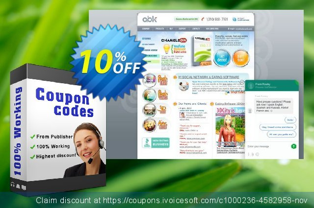 BusinessSpace Single Domain License discount 10% OFF, 2020 Back to School season offering sales
