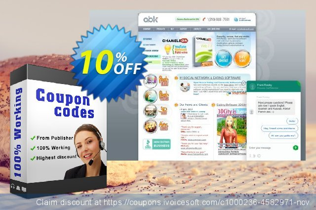Upgrading to Chameleon discount 10% OFF, 2020 Happy New Year promotions