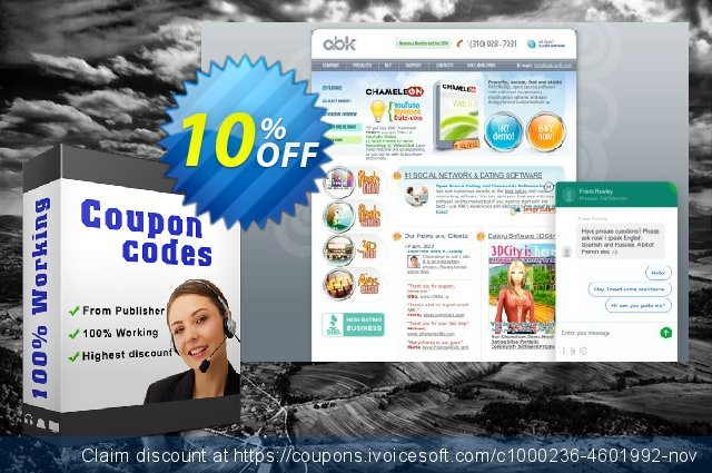 Chameleon Single License Discounted Price 330 USD discount 10% OFF, 2020 Teacher deals promo