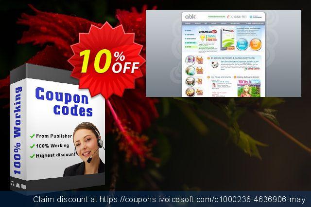 Chameleon Software + Themes (2 Domains)  최고의   세일  스크린 샷