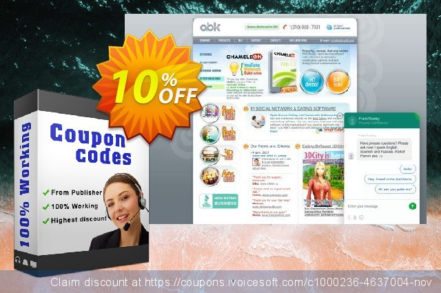 Chameleon Software Script + All Templates discount 10% OFF, 2020 Back to School promotion offering discount