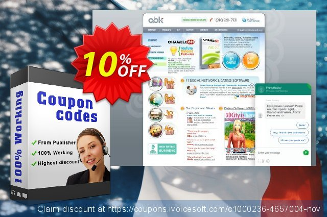 Application graphics preparation discount 10% OFF, 2020 New Year's Weekend promo
