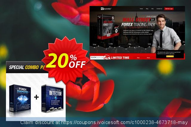 Forex Diamond EA + Forex Trend Detector discount 20% OFF, 2020 Working Day discounts