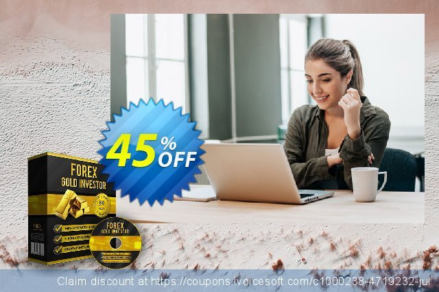 Forex Gold Investor discount 30% OFF, 2020 Exclusive Student discount offering sales