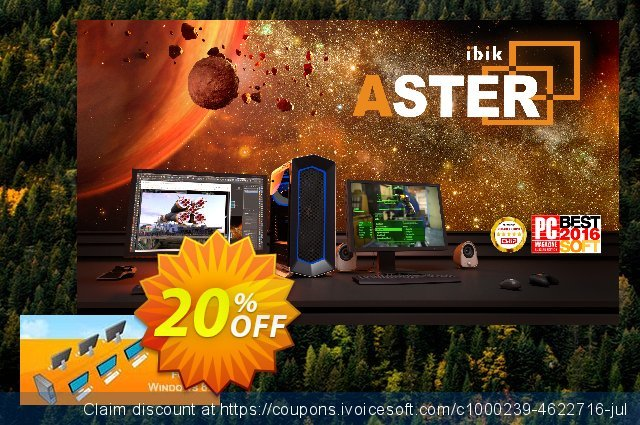 ASTER XP discount 25% OFF, 2020 New Year's Weekend discount
