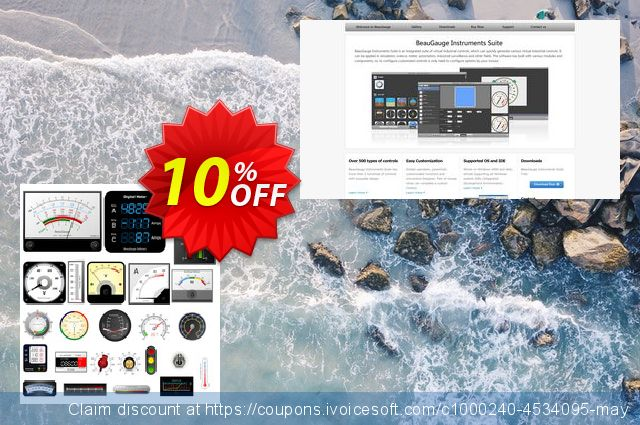 BeauGauge Instrumentation Suite Pro 6.x (1 Developer License) discount 10% OFF, 2019 Student deals offer