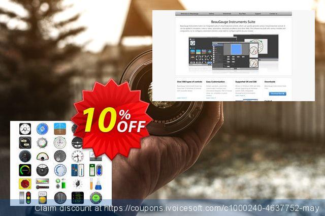 BeauGauge Instruments Suite 7.x (5 Developer License) 令人敬畏的 产品销售 软件截图