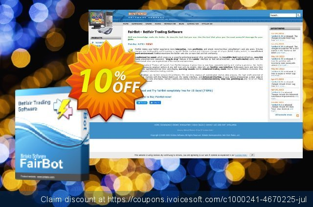 FairBot Italy (3 months access) discount 10% OFF, 2020 Black Friday offering sales